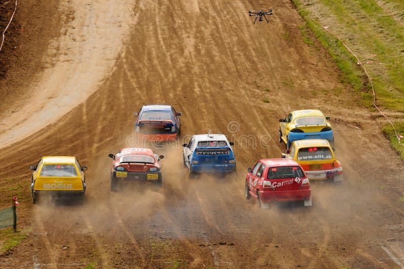 Autocross stock photo
