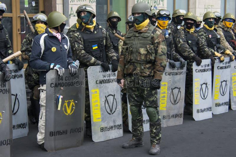 Autodéfense. photo stock