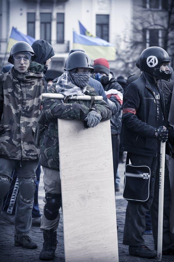 Autodefesa de Evromaydan em Ucrânia