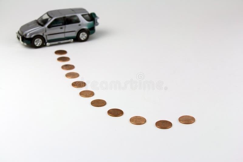 Autoeinsparung lizenzfreie stockbilder