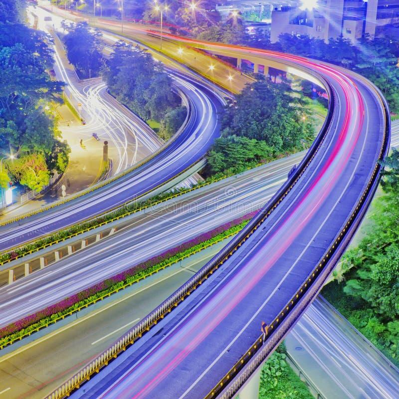 Ponte da passagem superior foto de stock royalty free