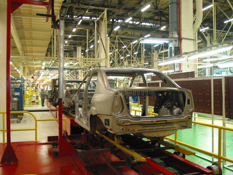 Autofabrik lizenzfreie stockfotografie