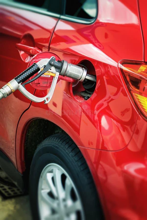 Autogas/LPG pump royaltyfri fotografi