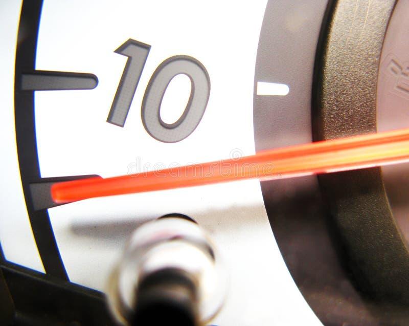 Autogeschwindigkeitsmesser stockbild