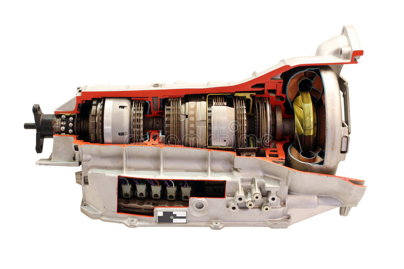 Autogetriebe lokalisiert stockfotos