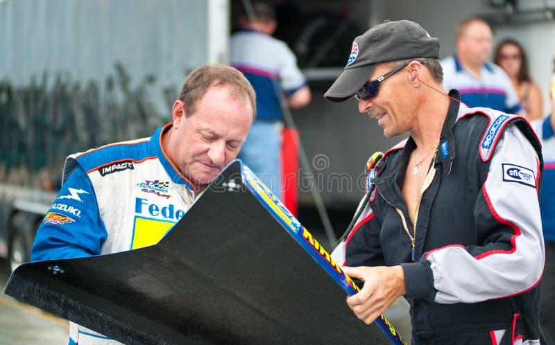 Autographe de signature de Ken Schrader photo libre de droits