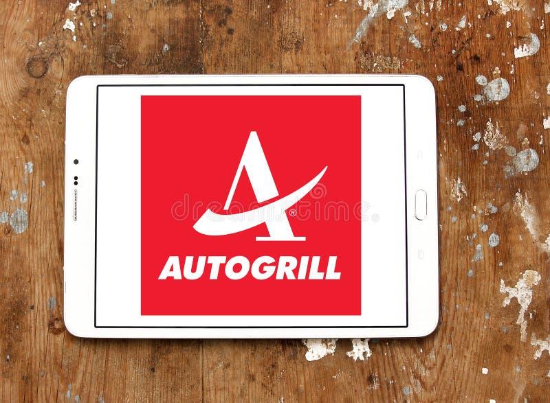 Autogrill承办酒席公司商标 免版税图库摄影