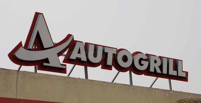 Autogrill royalty free stock images