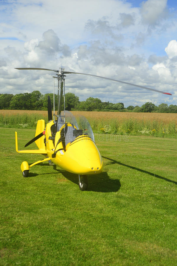 Autogyro aircraft GMBH αθλητισμός στοκ εικόνες με δικαίωμα ελεύθερης χρήσης
