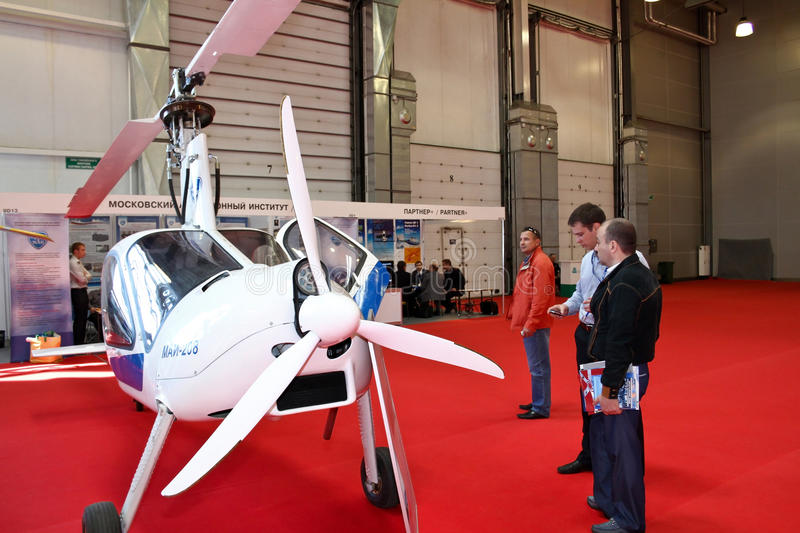 Download Autogyro MAI-208 editorial stock image. Image of copter - 20854334