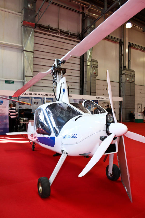 Download Autogyro MAI-208 editorial photography. Image of coaxial - 20854357