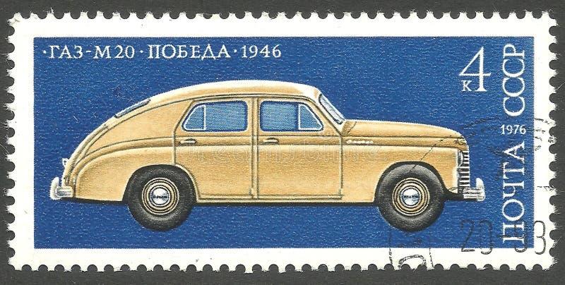 Autoindustry, GAZ M 20 foto de archivo