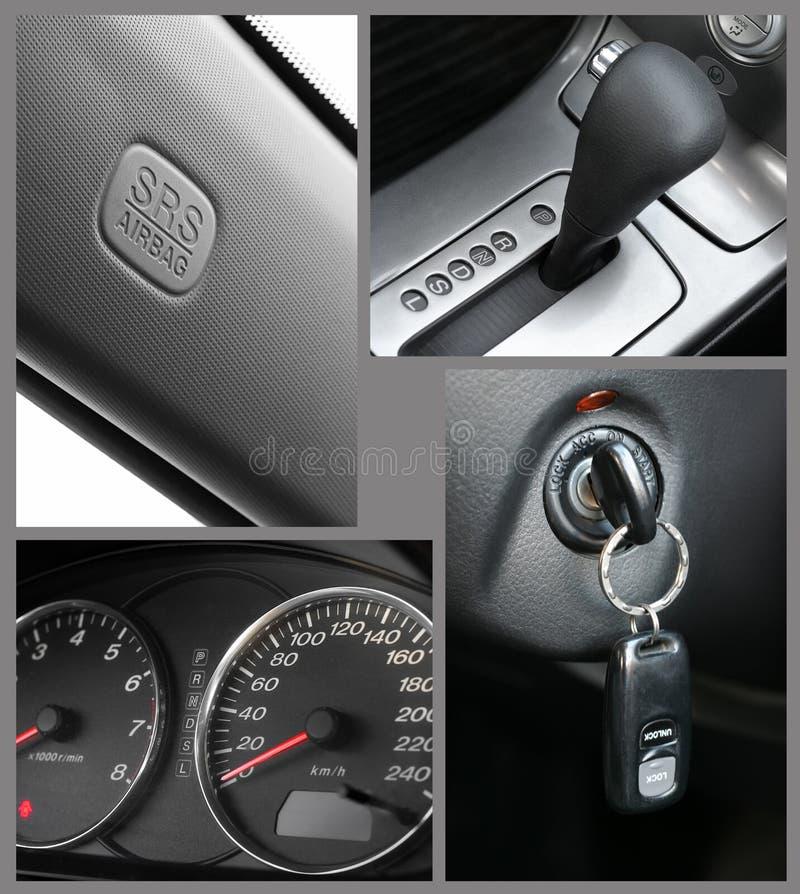 Autoinnenraum stockfotos