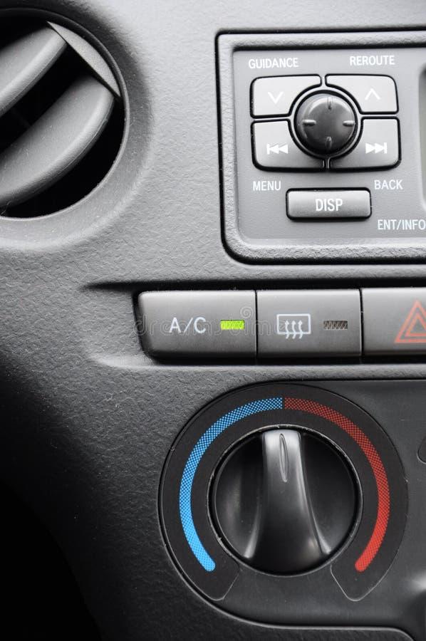 Autoinnenraum lizenzfreie stockbilder
