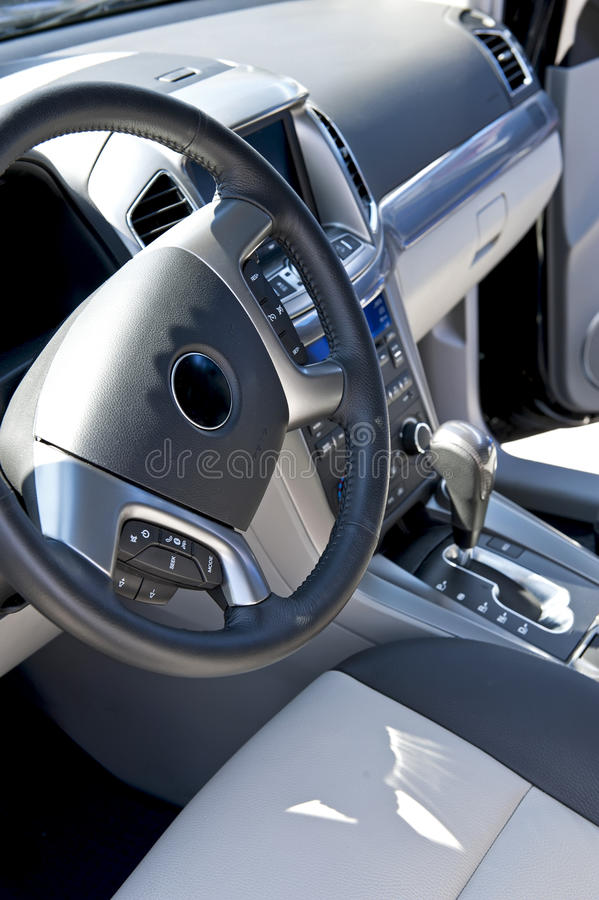 Autoinnenraum lizenzfreies stockfoto
