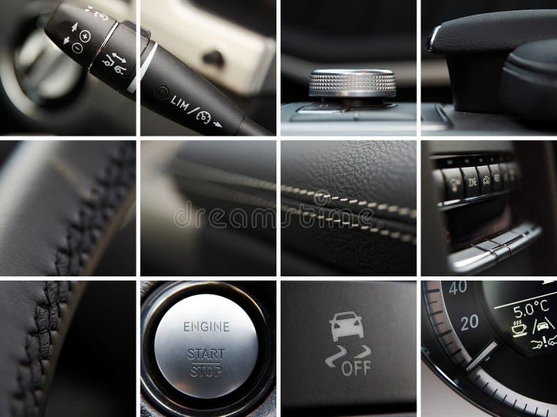 Autoinnenraumdetails lizenzfreies stockbild