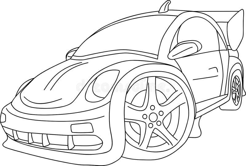 Autojustage vektor abbildung