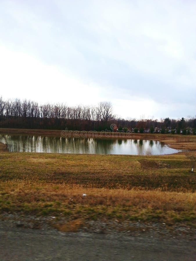 Autokerkhofmeer stock foto
