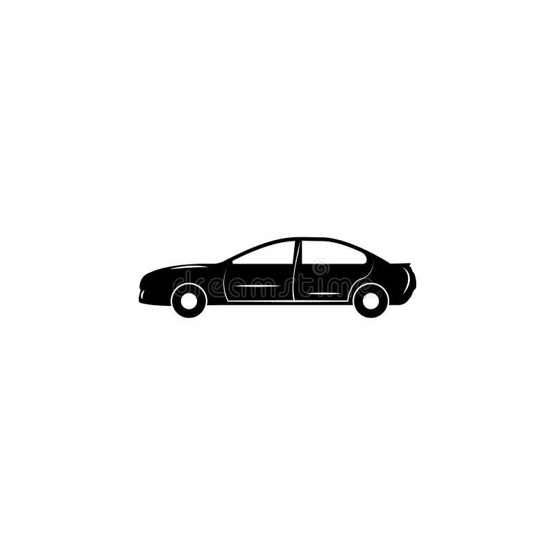 Autolimousineikone Autoart einfache Ikone vektor abbildung