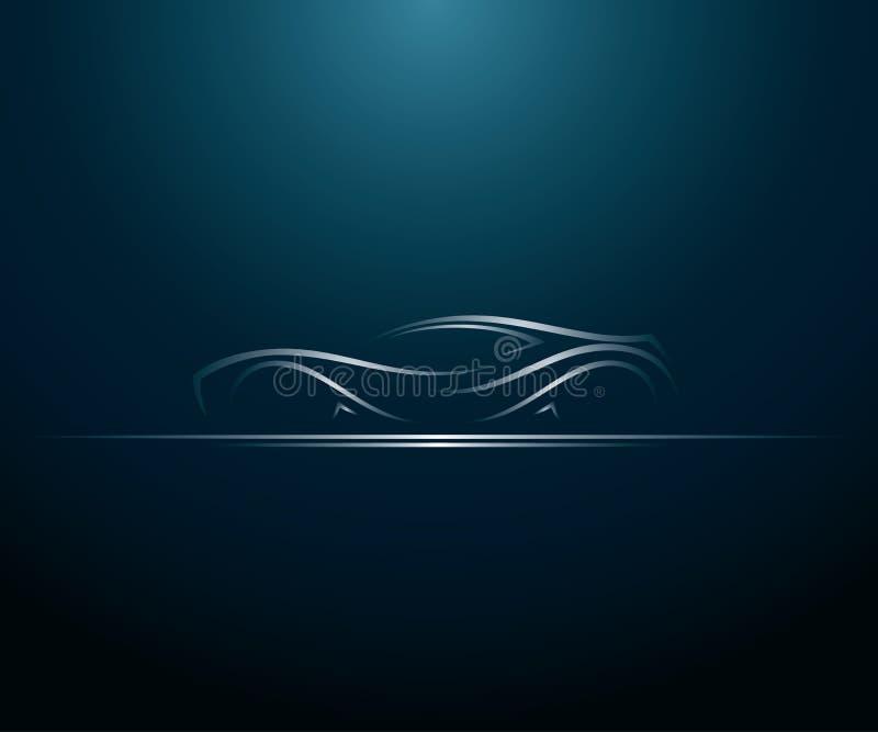 Autolinien vektor abbildung