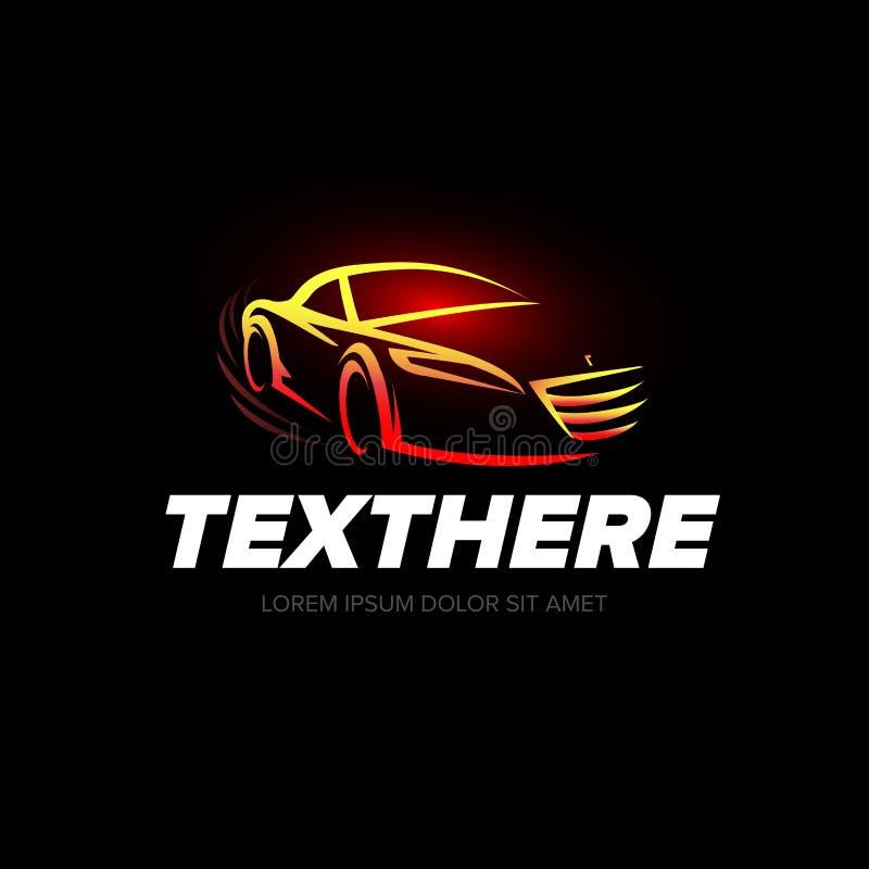 ` Autologo ` samochodowy logotyp - samochód usługa i naprawa, wektoru set Samochodowy logo auto tematu logo ilustracji