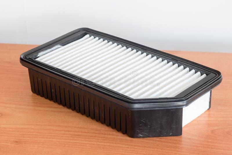 Autoluftfilter Ersatzteil f?r Automotorluftfilter f?r Reinigungsstaub und Schmutz stockfotografie