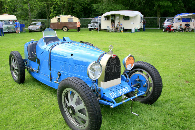 Automóvel 1929 de Bugatti do vintage fotografia de stock