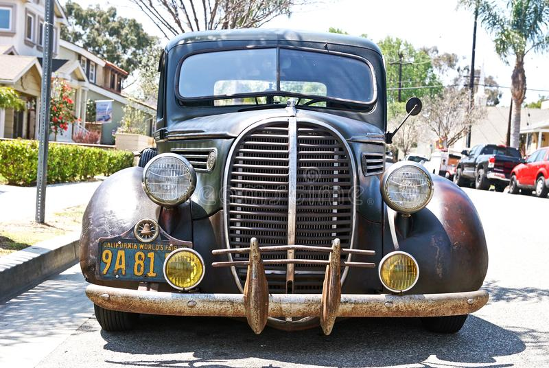 Automóvil americano clásico fotos de archivo libres de regalías