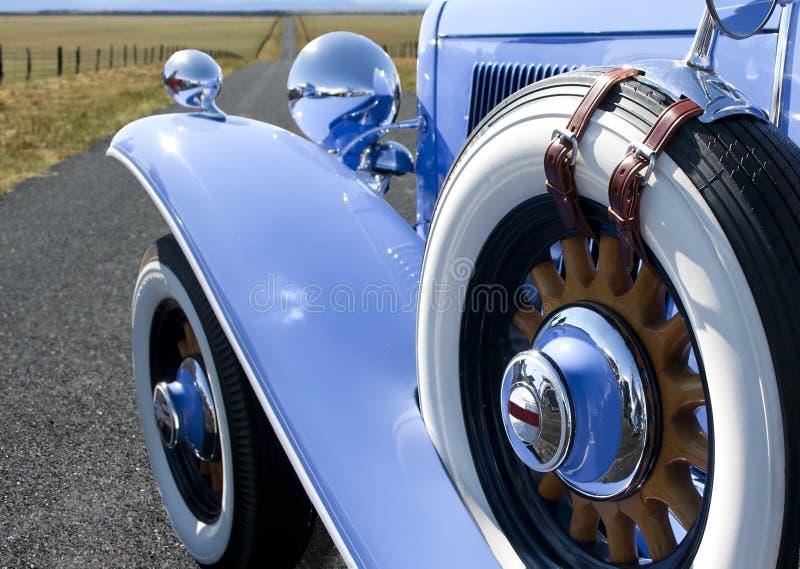 automóvil americano de la belleza de los años 20 foto de archivo libre de regalías