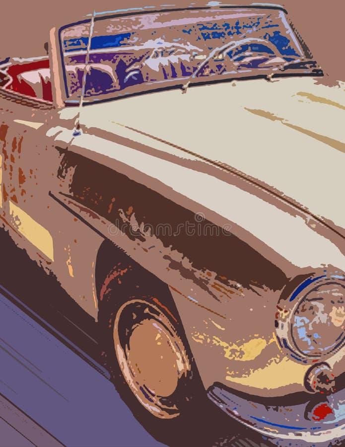 Download Automóvil de Brown stock de ilustración. Ilustración de transporte - 7278104