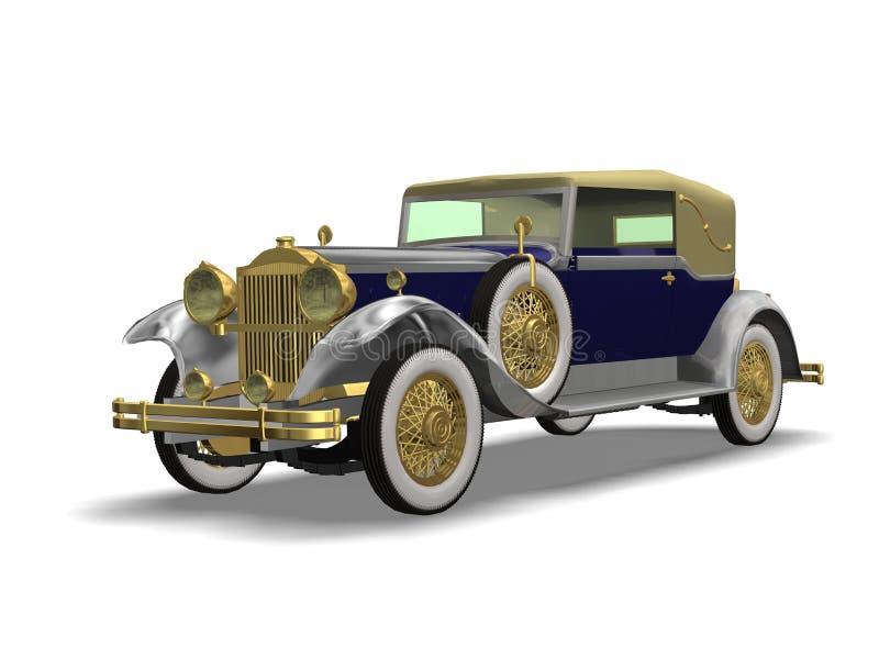 Automóvil de lujo de la vendimia libre illustration