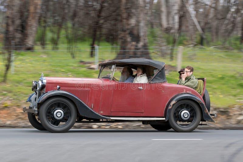 Automóvil descubierto 1934 de Morris Cowley 6 imagen de archivo