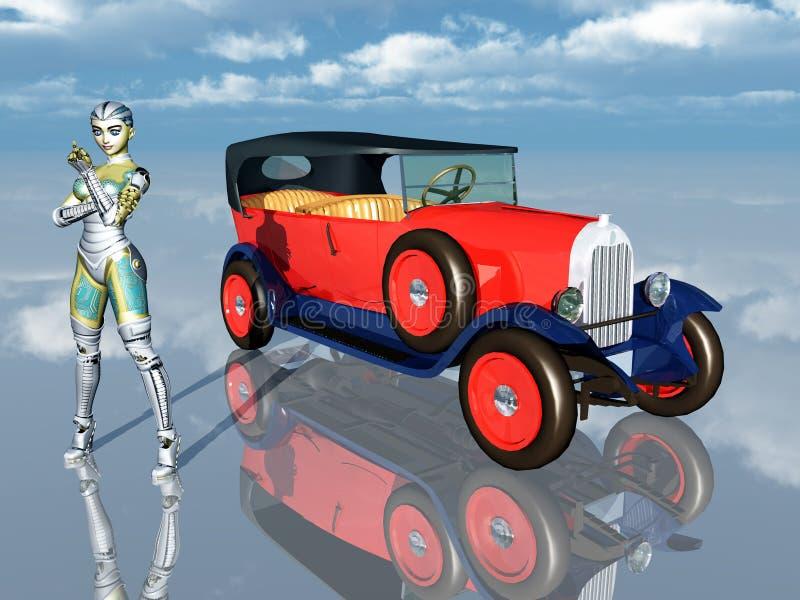 Automóvil francés libre illustration