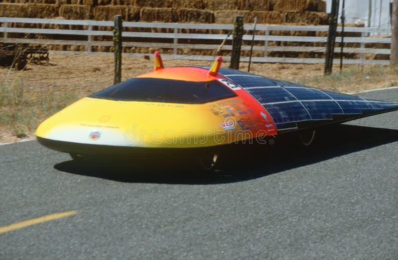 automóvil Solar-accionado fotografía de archivo libre de regalías