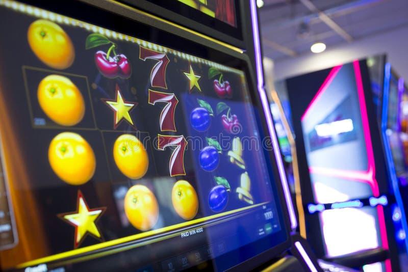 Automat do gier w kasynie zdjęcie stock