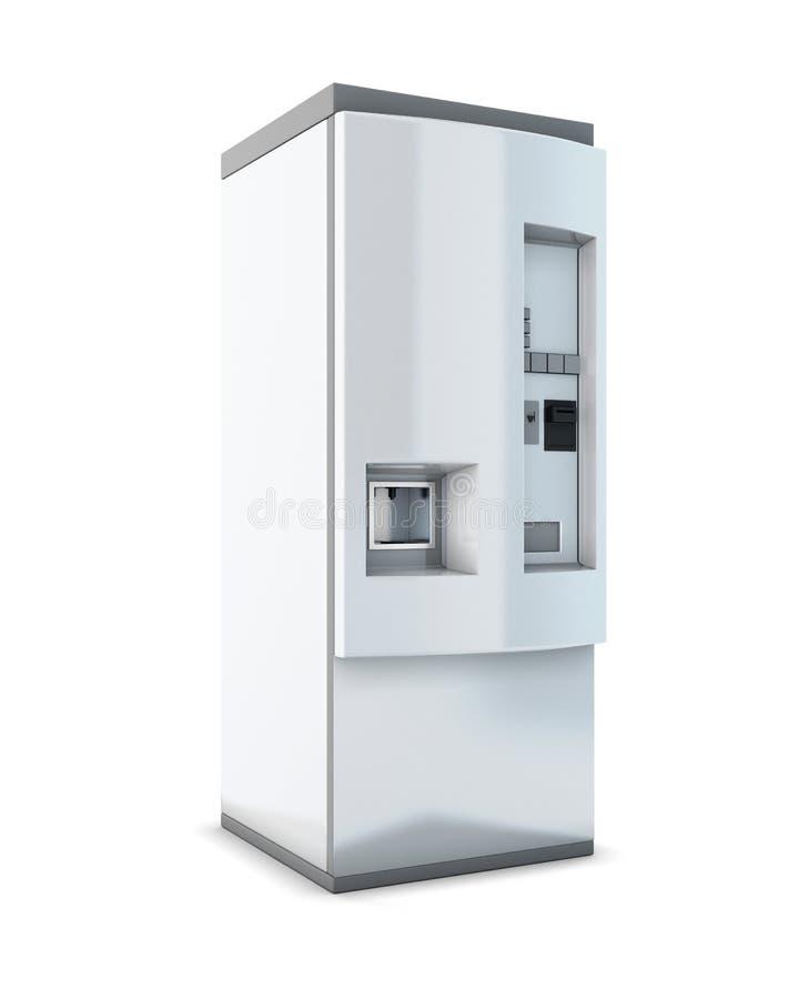 Automat für Getränke stock abbildung