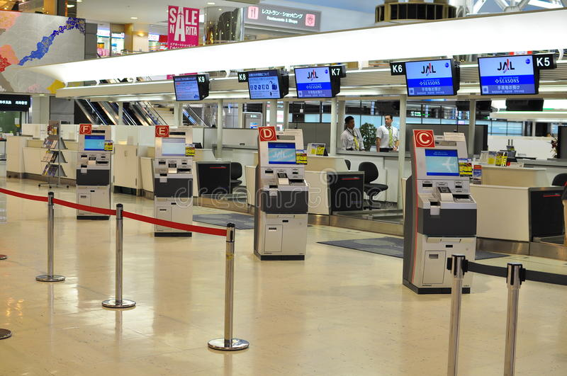 Download Automated Check In At Airport Editorial Stock Image - Image of airport, automated: 17849879