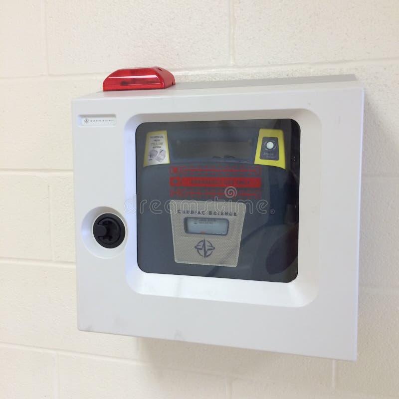 Automated external defibrillator royalty free stock photos