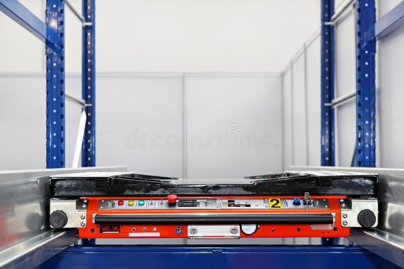 Download Automated pallet transport stock image. Image of vehicle - 26170751