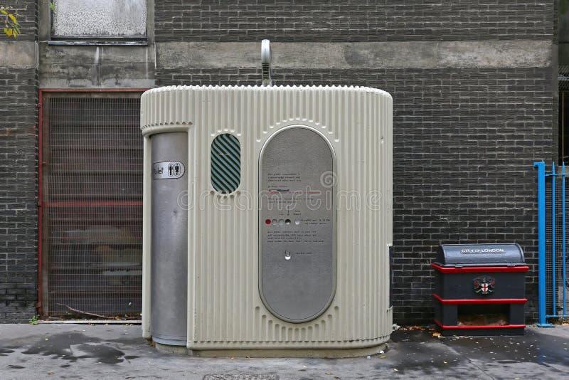 Automated Public Toilet stock photos