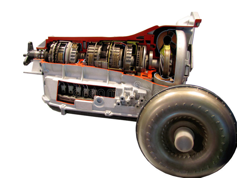 Automatic car transmission stock photos