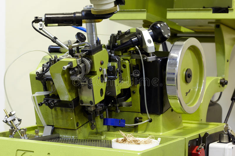 Download Automatic Chain-bending Machine Stock Image - Image: 20698145
