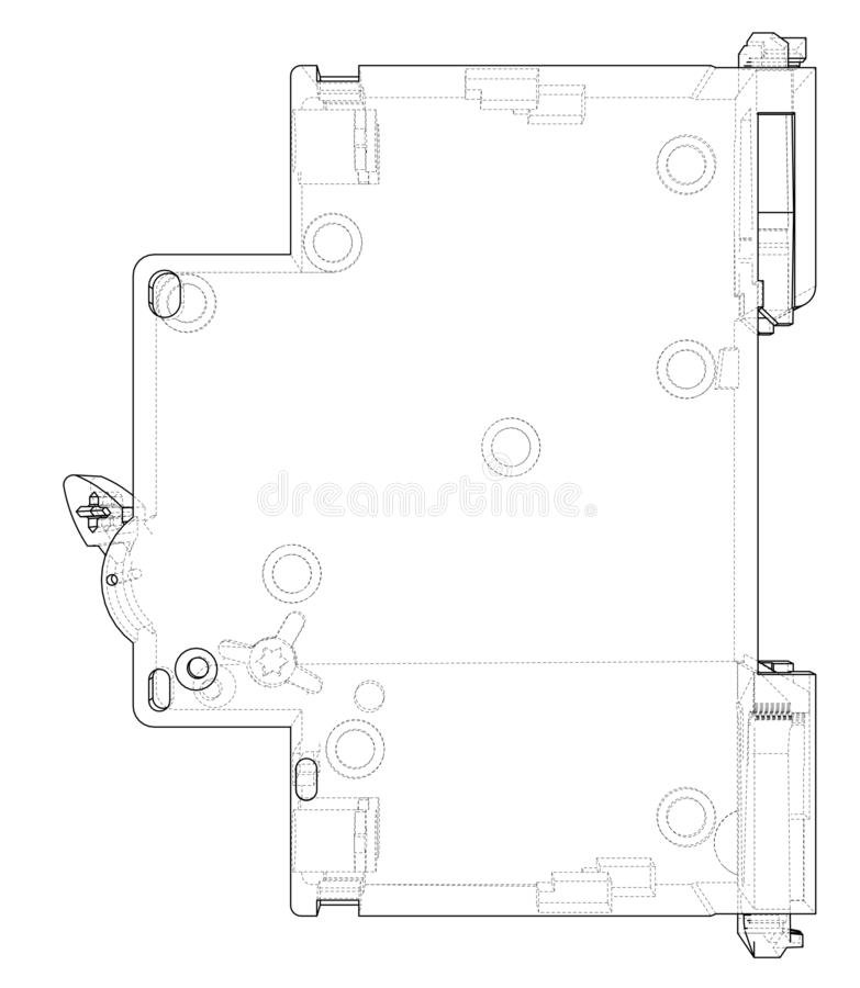 circuit breaker stock illustrations  u2013 416 circuit breaker stock illustrations  vectors  u0026 clipart