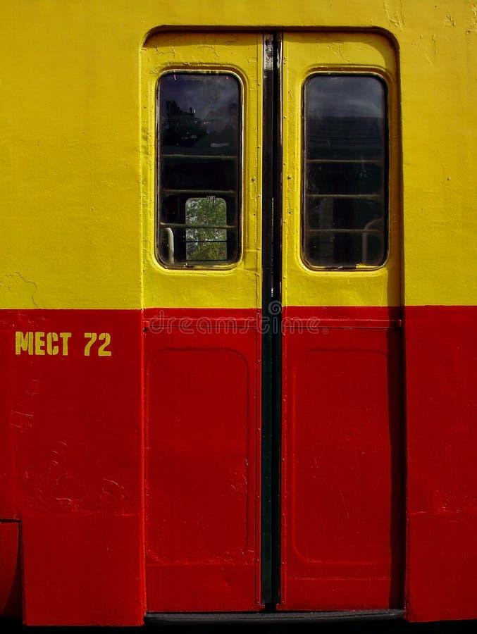 Download Automatic door stock image. Image of railways, door, transport - 23991967