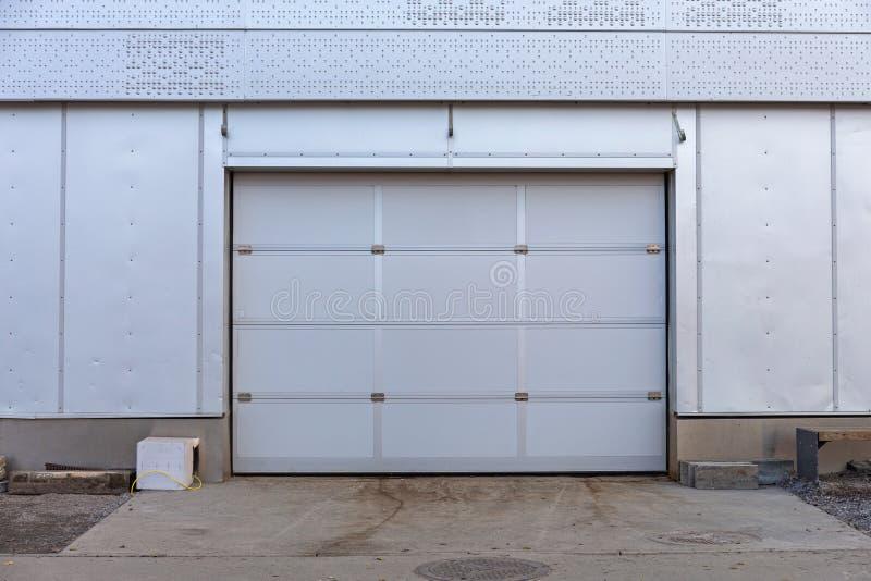 Automatic Garage Door Stock Image Image Of Road Image