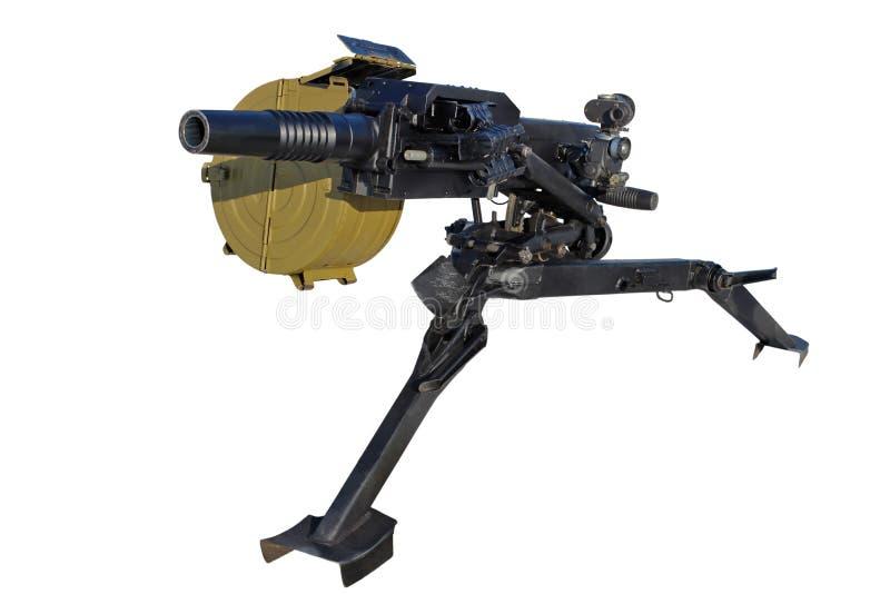 Automatic grenade launcher stock photos