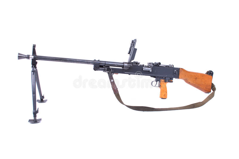 Automatic Gun Stock Photography