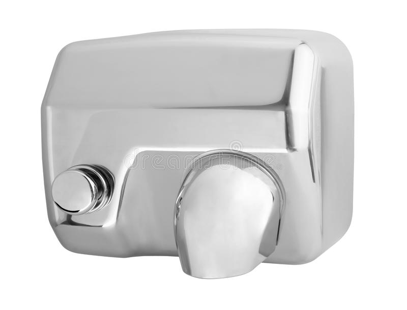 Automatic hand dryer royalty free stock photography