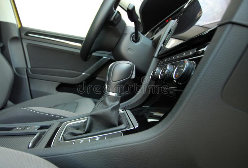 Automatic gear shift royalty free stock photo