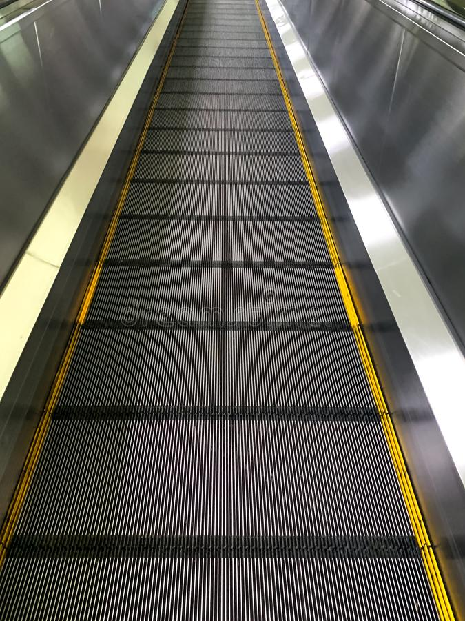 Automatic sliding in the airport,Donmung airport,Thailand royalty free stock photo